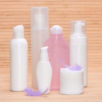 Soft beauty products for sensitive skin